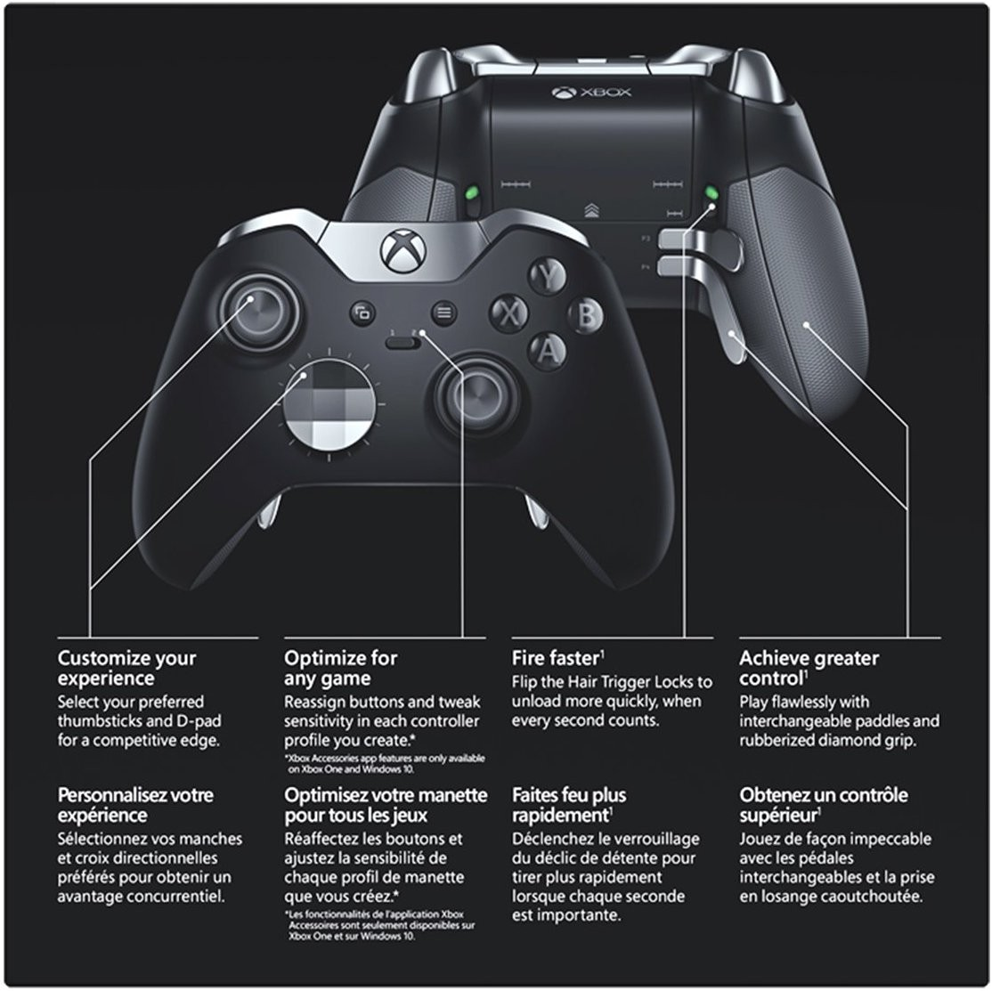 Xbox One ELITE Rapid Fire Modded Controller 40 Mods for All Major Shooter  Games