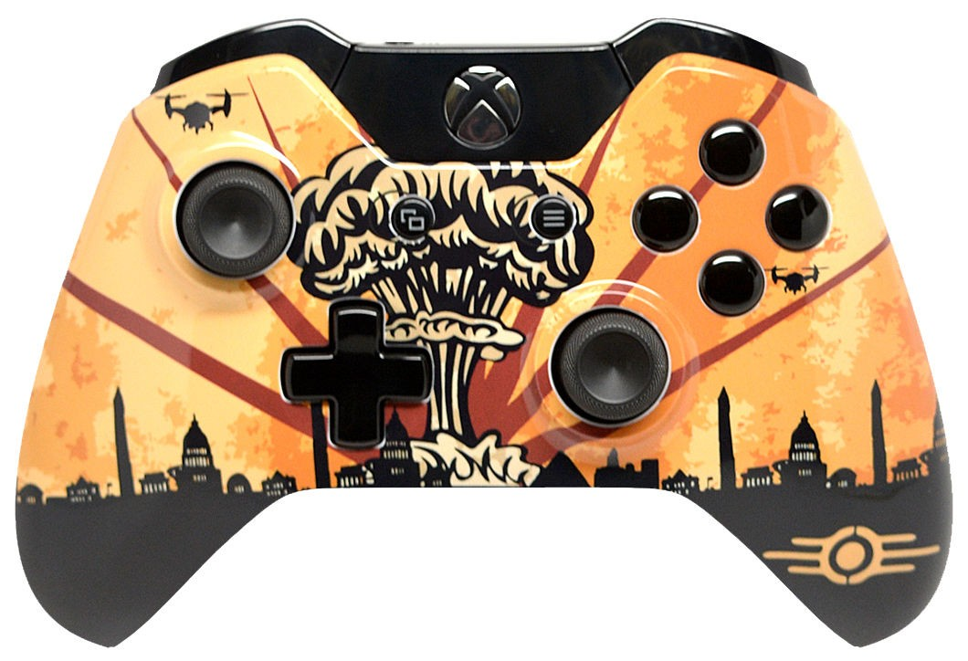 Fallout Explosion Xbox One Custom Modded Controller