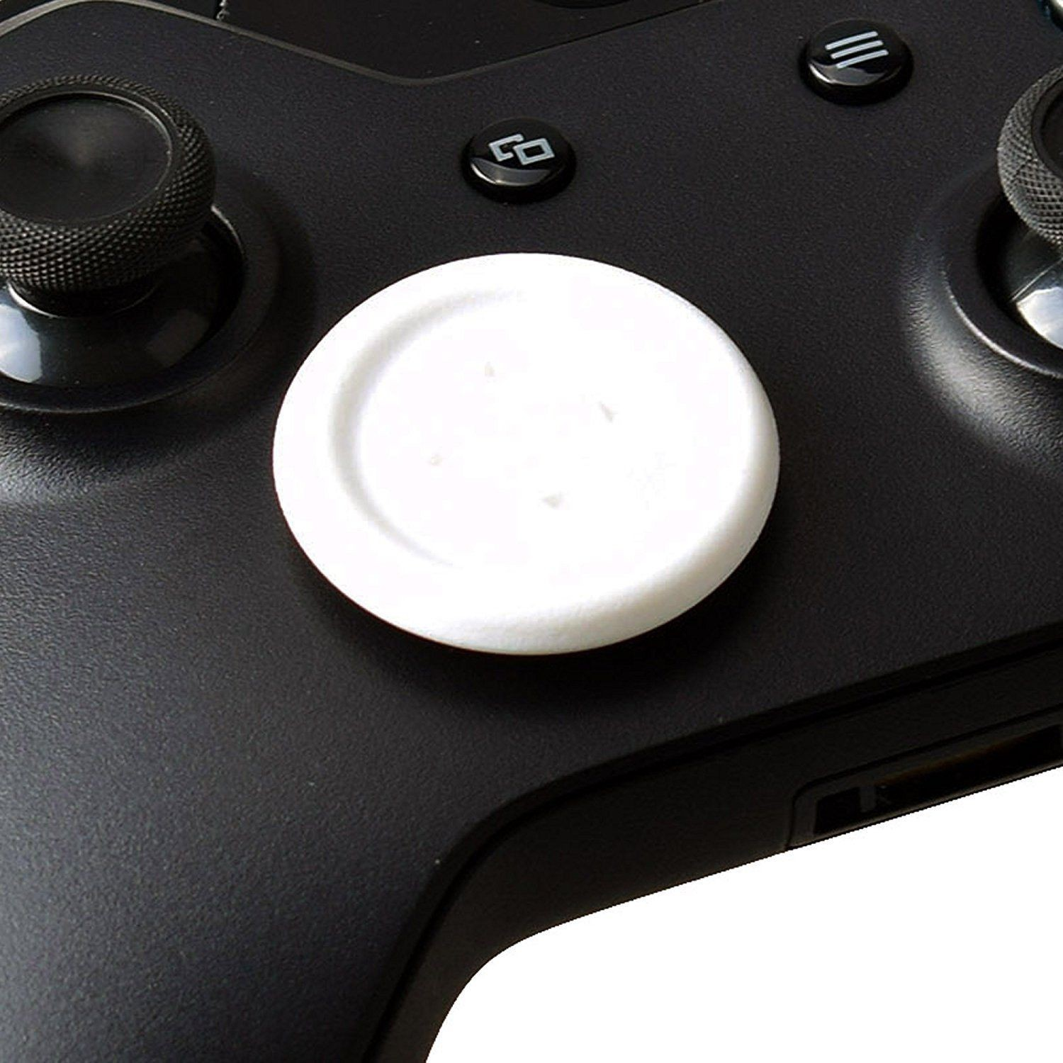 Xbox one Controller stick D-pad Flat Directional joystick Button Cap for XboxOne (White)
