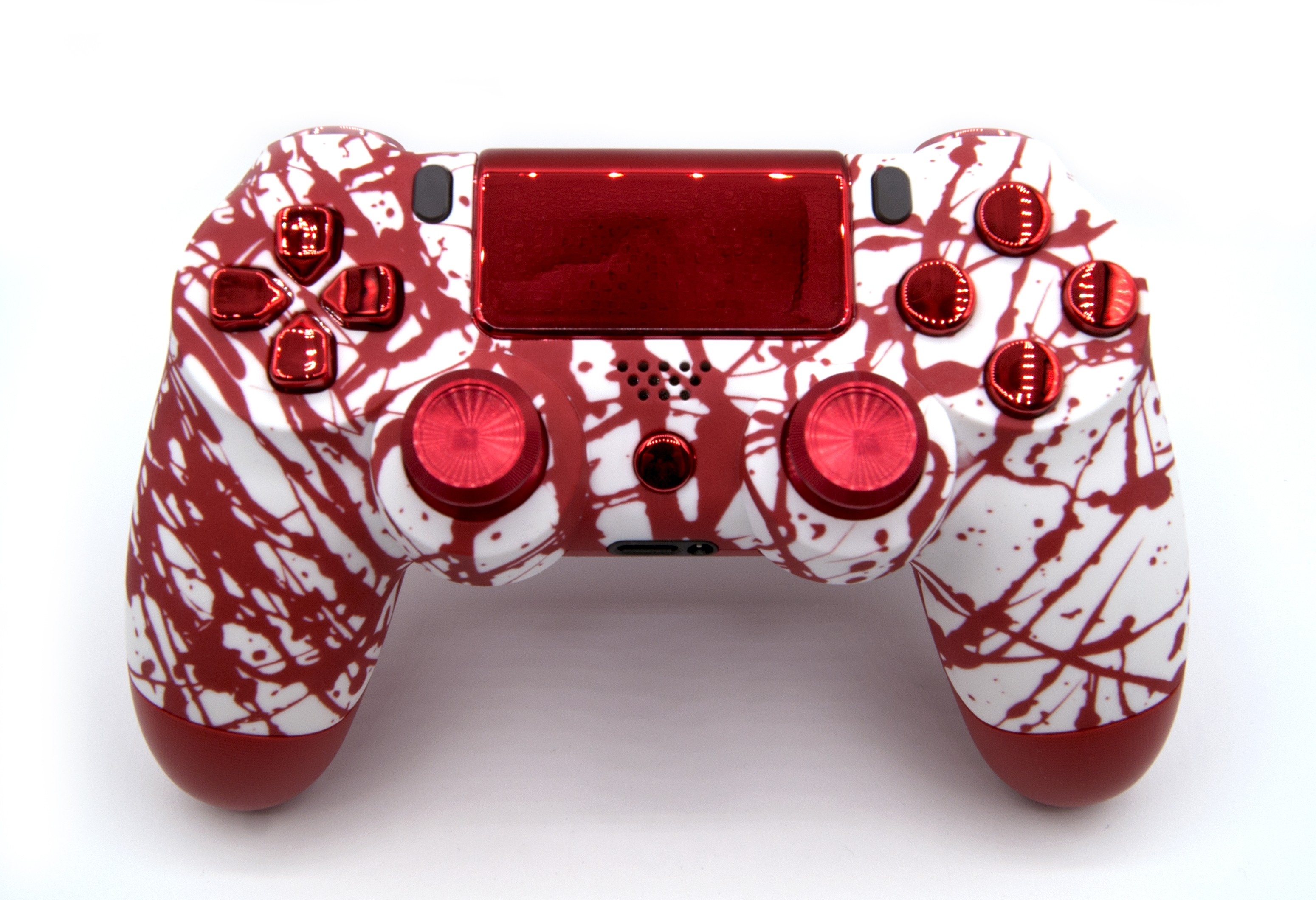 Bloody Splatter Playstation 4 V2 Custom Modded Controller