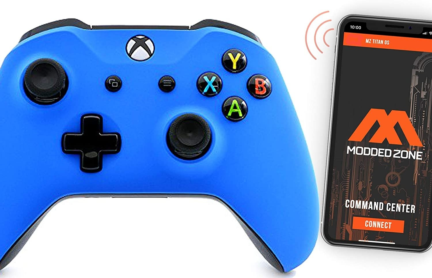 Soft Blue Smart Xbox One S Rapid Fire Custom MODDED Controller