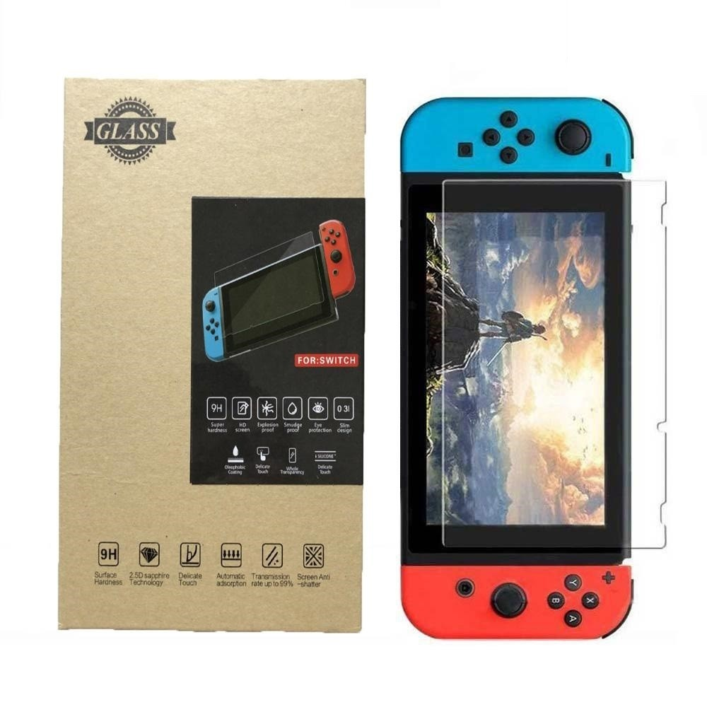 9 H Tempered Glass Screen Film Protector for Nintendo Switch