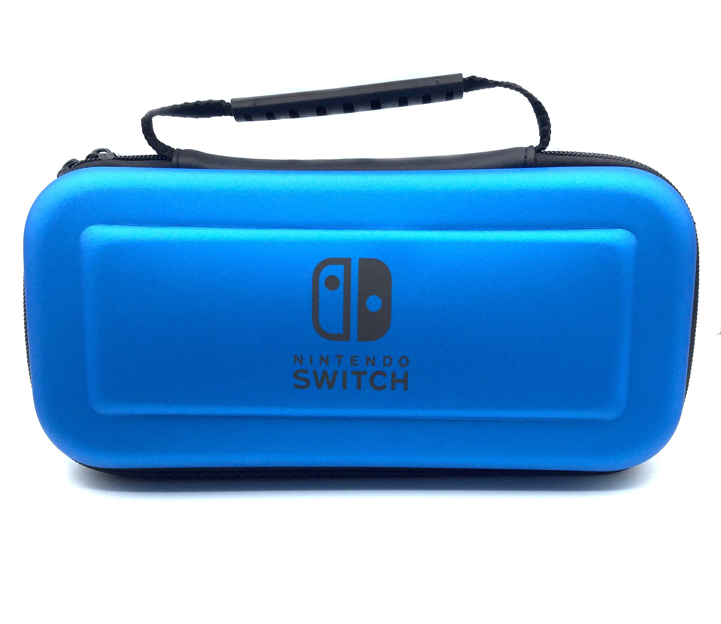 Hard Carrying Case EVA Pouch with Handle for NS Nintendo Switch – Blue