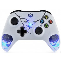 ILLUMINATING SKULLS Xbox One S Custom Modded Controller