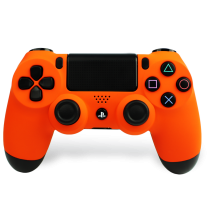 Soft Orange PS4 Custom Controller