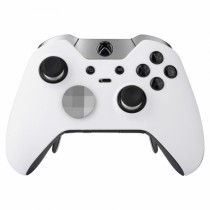 SOFT WHITE Xbox One ELITE Rapid Fire Modded Controller 40 Mods for All Major Shooter Games