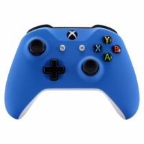 SOFT TOUCH BLUE Xbox One S Custom Modded Controller