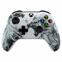 Snow Wolves Xbox One S Custom Modded Controller