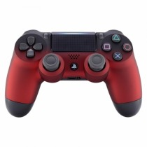 Soft Touch Red Shadow Playstation 4 V2 (new version) Custom Modded Controller