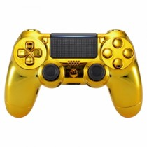 Chrome Gold Playstation 4 V2 (new version) Custom Modded Controller