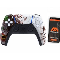 Funny Face Playstation 5 PS5 DualSense Wireless Controller Smart Rapid Fire Modded Controller