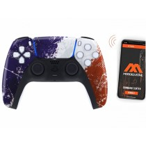 French Flag Playstation 5 PS5 DualSense Wireless Controller Smart Rapid Fire Modded Controller