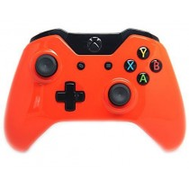 Glossy Orange Xbox One Custom Modded Controller