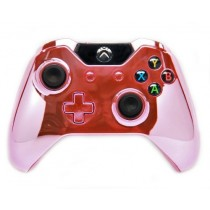 Chrome Pink Xbox One Custom Modded Controller