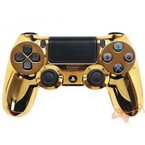 Chrome Gold Playstation 4 Custom Modded Controller