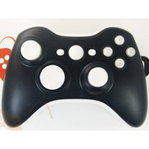 Black/White Xbox 360 Custom Modded Controller