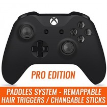 Xbox One S PRO Esports Professional Controller with Rubber Grip, Remapping 4 Paddles and Tactical Hair Triggers