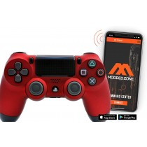 Soft Red Smart PS4 PRO Rapid Fire Custom MODDED Controller