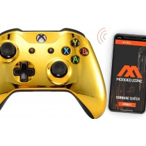 Gold Smart Xbox One S Rapid Fire Custom MODDED Controller