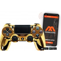 Gold Smart PS4 PRO Rapid Fire Custom MODDED Controller