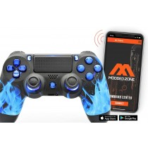 Blue Fire Smart PS4 PRO Rapid Fire Custom MODDED Controller