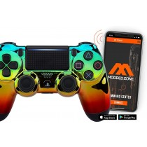 Rainbow Smart PS4 PRO Rapid Fire Custom MODDED Controller