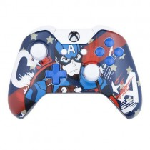 Captain America Xbox One Custom Modded Controller