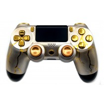 Gold Thunder Playstation 4 Custom Modded Controller