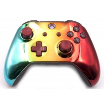Rainbow Xbox One S Custom Modded Controller