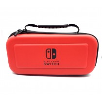 Hard Carrying Case EVA Pouch with Handle for NS Nintendo Switch – Red