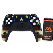 Military Playstation 5 PS5 DualSense Wireless Controller Smart Rapid Fire Modded Controller