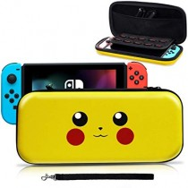 Hard Carrying Case EVA Pouch for NS Nintendo Switch – Pikachu