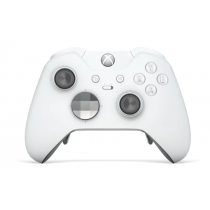 WHITE EDITION Xbox One ELITE Rapid Fire Modded Controller 40 Mods for All Major Shooter Games