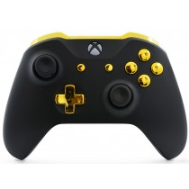 Black/Gold Xbox One S Custom Modded Controller