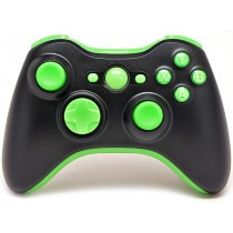 Black/Green Xbox 360 Custom Modded Controller