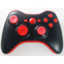 Black/Red Xbox 360 Custom Modded Controller