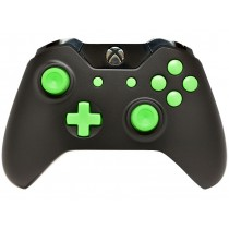 Black/Green Xbox One Custom Modded Controller