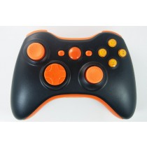 Black/Orange Xbox 360 Custom Modded Controller