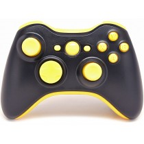 Black/Yellow Xbox 360 Custom Modded Controller