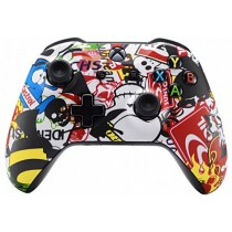 Sticker Bomb Xbox One S Custom Modded Controller