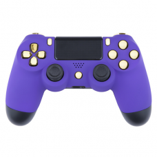 Soft Purple PS4 Custom Modded Controller