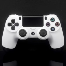 Soft White PS4 Custom Controller