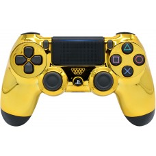 Gold Playstation 4 V2 (new version) Custom Modded Controller