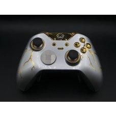 Gold Thunder Xbox One ELITE Rapid Fire Modded Controller 40 Mods for All Major Shooter Games