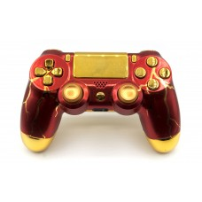 Red Thunder Playstation 4 Custom Modded Controller