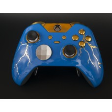 Blue Thunder Xbox One ELITE Rapid Fire Modded Controller 40 Mods for All Major Shooter Games