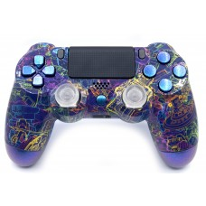 Techno Playstation 4 V2 (new version) Custom Modded Controller