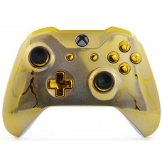 Gold Thunder Xbox One S Custom Modded Controller
